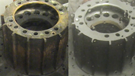 Aviation MRO Brake Disc Descaling