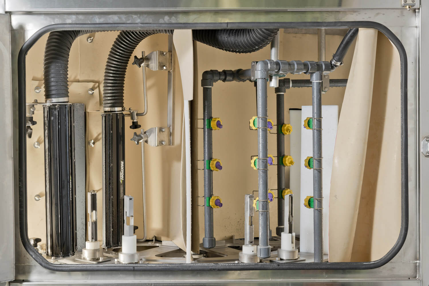Dedicated Rinse Stations