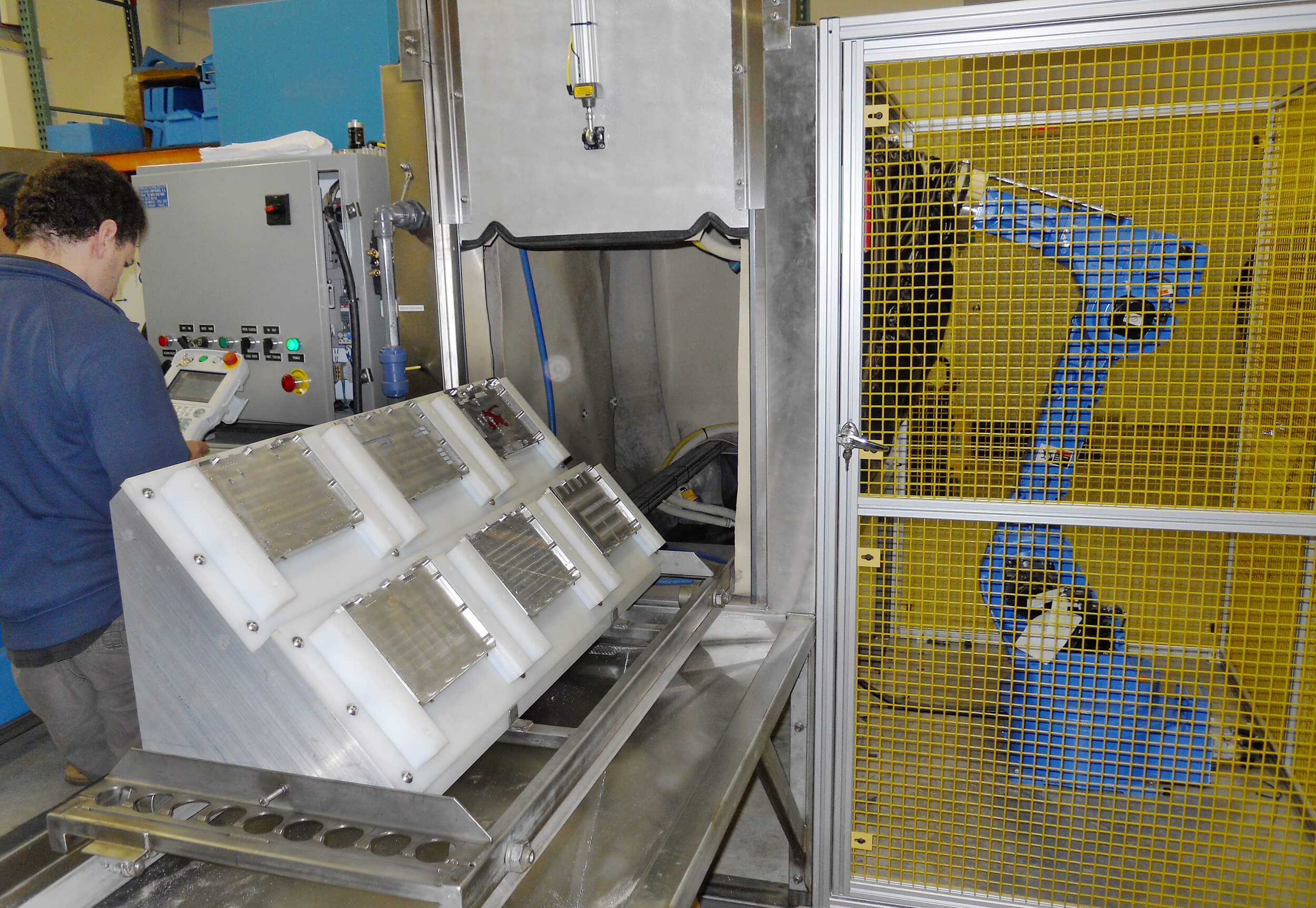 6 axis programmable batch system in use since 2012