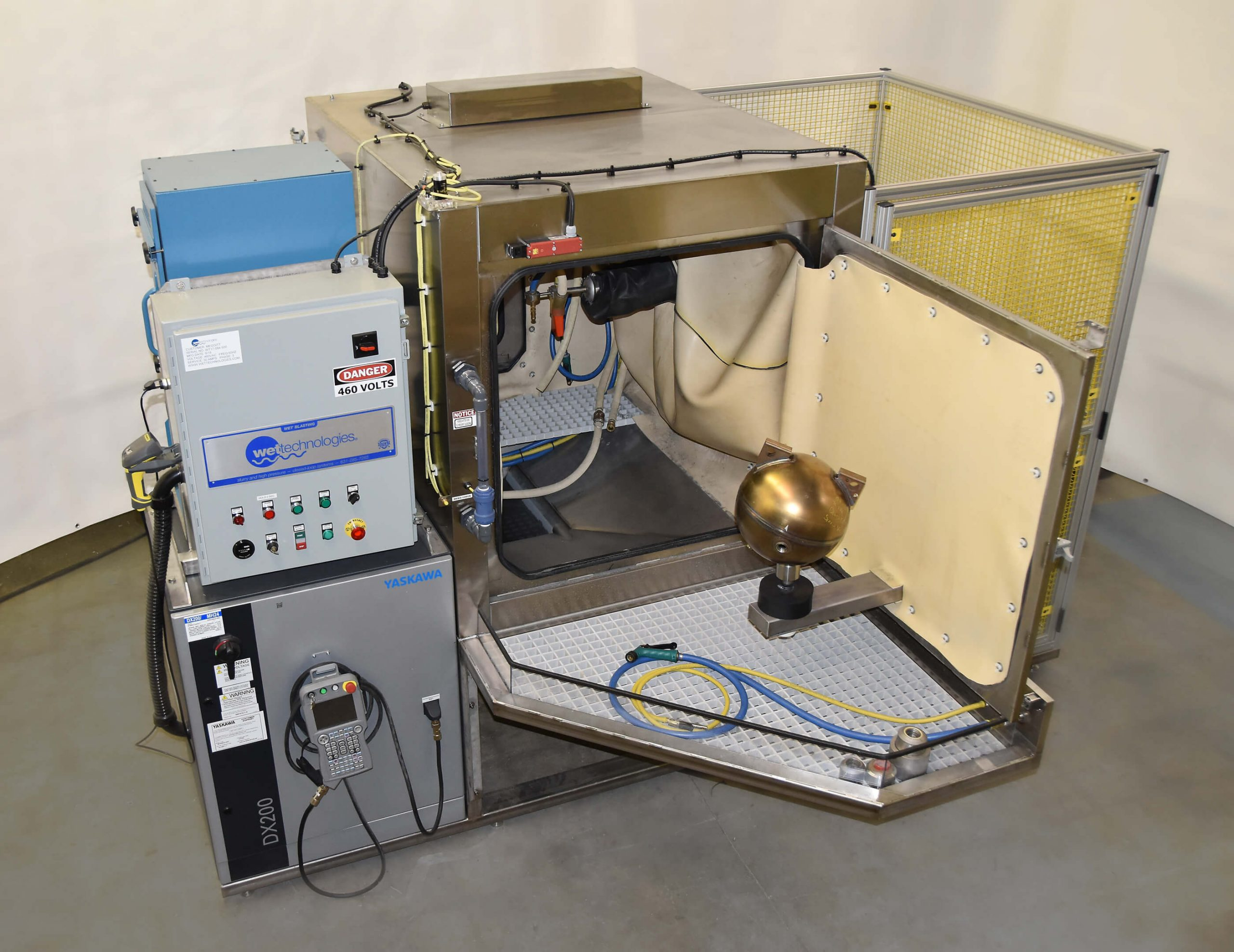 7-Axis Bar Scan System with 100 Programs