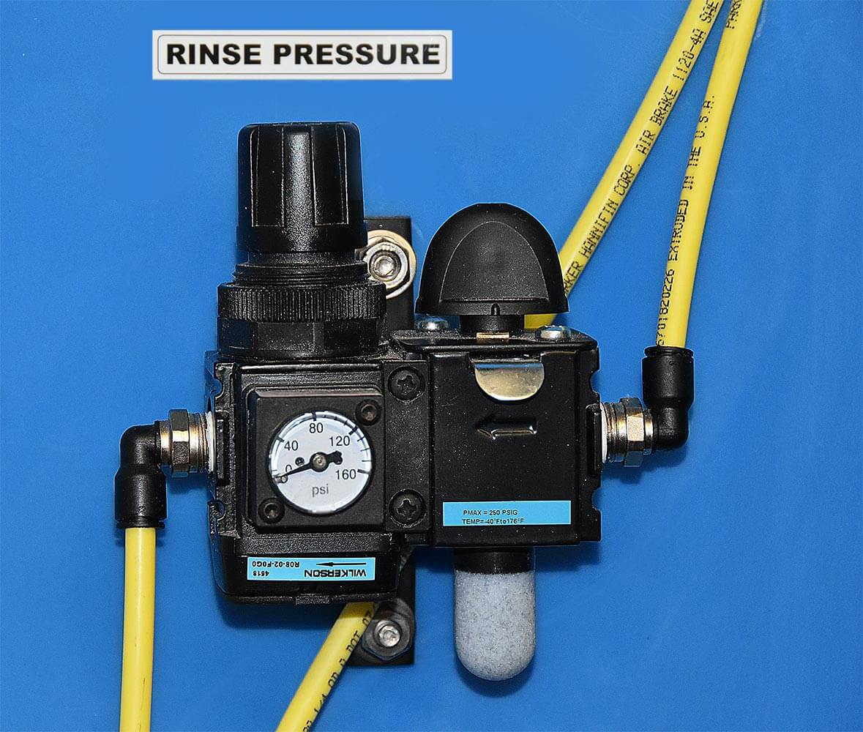 Rinse Pressure Gauge