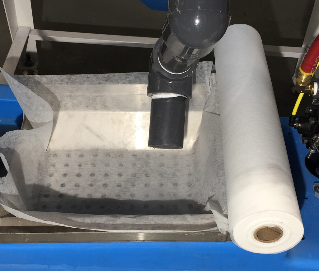 Manual Filter Paper Roll Tray