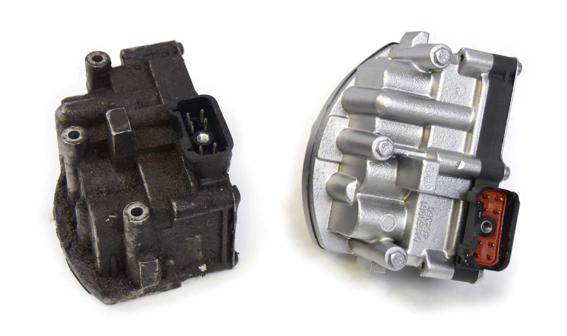Automotive reman before and after