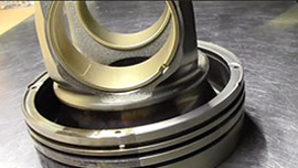 Application REMANUFACTURING DIESEL PISTONS
