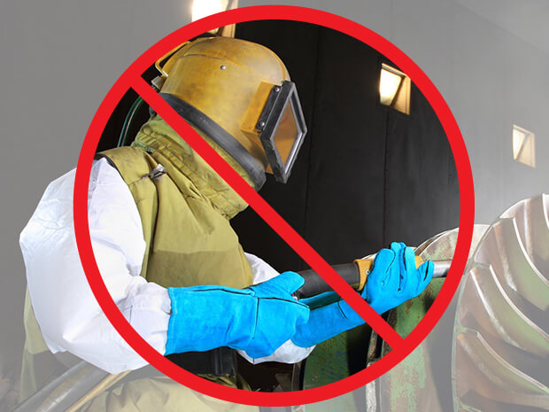 Eliminate Sand Blasting with Wet Technologies